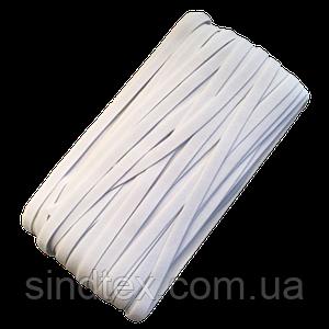 НА МЕТРАЖ Гумка біла з силіконом для бретель, ширина 1см (ПМН-660-0006)