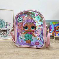 Детская сумка-рюкзак для девочки с LOL 19*17 см