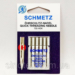 Игла Quick Threading (легковдеваемые) №80 (шметс-35)