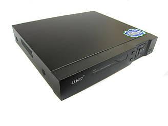 Видеорегистратор DVR 4 канальный UKC CAD 1204 AHD Черный ES, КОД: 2450683