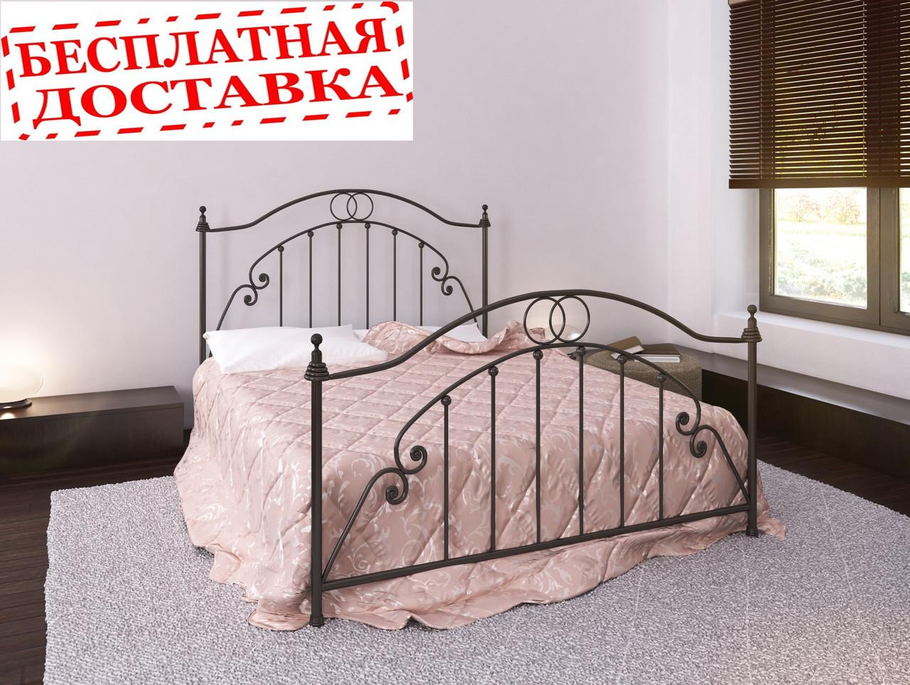 Кровать из металла Firenze. Кровать Флоренция.