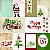 """Бумага для скрапбукинга """"Journaling Cards- Merry Christmas"""" Echo Park"""