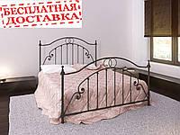 Кровать из металла Firenze. Кровать Флоренция. 160х190
