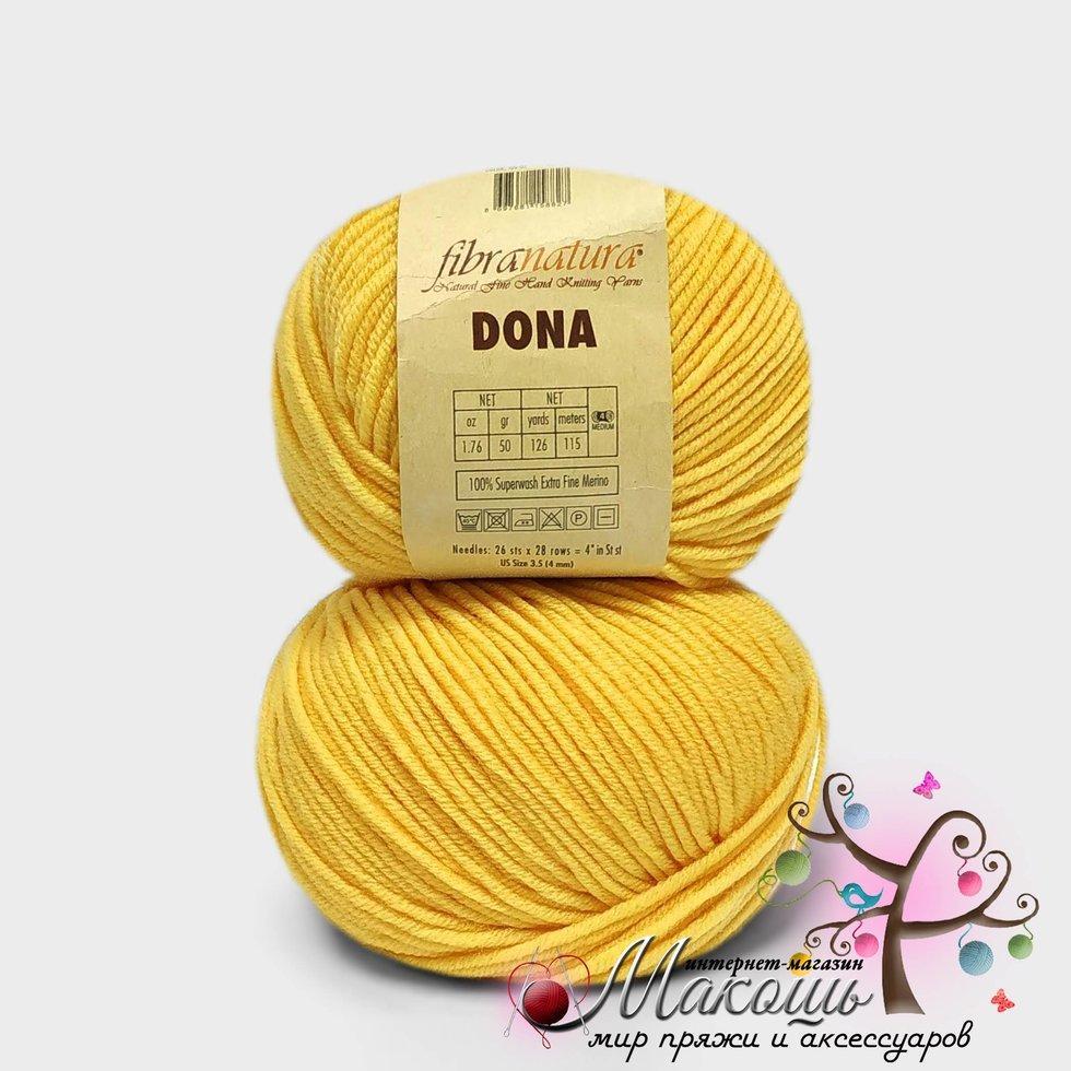 Пряжа Dona Донна Фибранатура, 106-02, св. жовтий