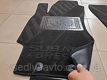 Водительский ворсовый коврик Opel Combo C с 2001-2011 гг. (Avto-tex)