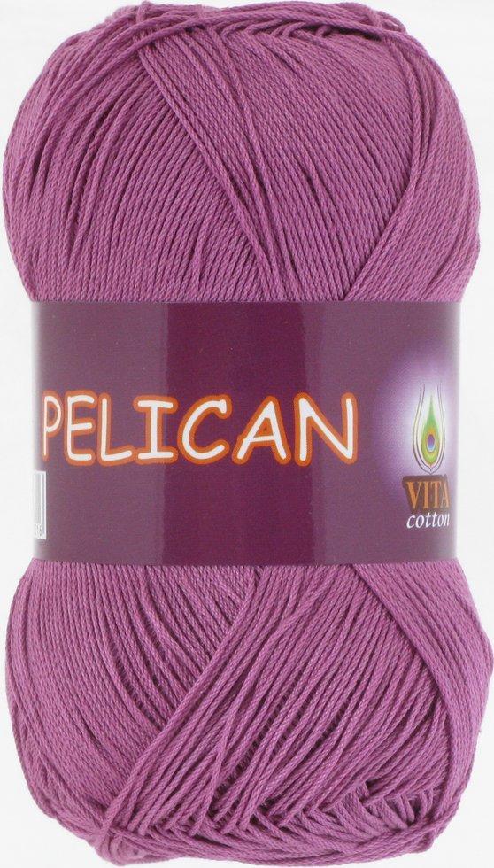 Пряжа Пеликан Pelican, № 4006, св. цикламен