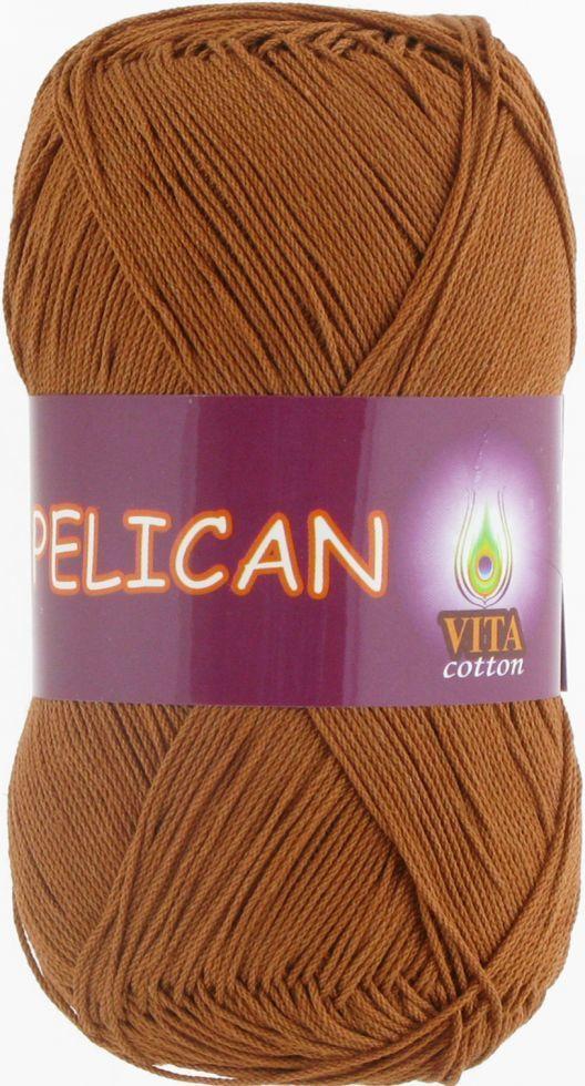 Пряжа Пелікан Pelican Vita Cotton, № 4004, теплий бежевий
