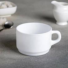 Белая штабелируемая чашка из стеклокерамики 280 мл Luminarc Empilable (h7794)