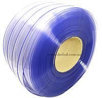 ПВХ Завеса синяя бухта 50м*20см*2мм низкотемпературная