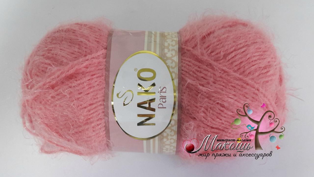 Пряжа Paris Париж Nako, № 3294, розовый