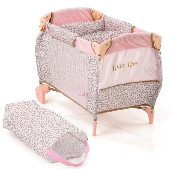 Манеж-ліжечко для ляльки HAUCK D-90186 Little Diva 52-34-37см з сумкою