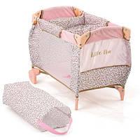Манеж-ліжечко для ляльки HAUCK D-90186 Little Diva 52-34-37см з сумкою, фото 1