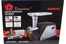 Електром'ясорубка з соковижималкою DOMOTEC 2500w MS-2024 + (4 шт/ящ)