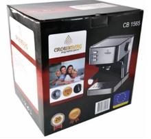 Кавова машина напівавтомат Espresso Coffee Maker, з капучинатором Crownberg CB 1565 (2 шт/ящ)