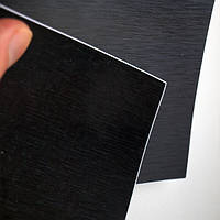Супер черный тесаный металл Catpiano 1,52м