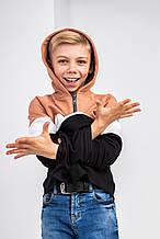 Дитячий світшот Stimma Димаш 6217 158 чорний-мигдальный