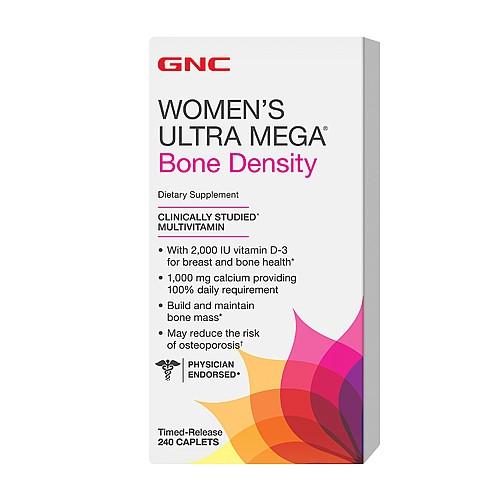 GNC Women's Ultra Mega Bone Density 240 caplets