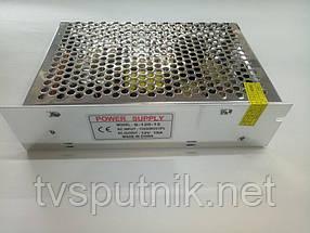 Импульсный блок питания S-120-12 (12В/10Ач)