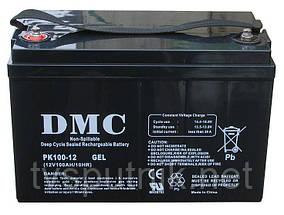 Акумулятор DMC PK12-100 GEL (100A*год 12В)