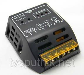 PWM контроллер заряда АБ CMP12 (10А 12В/24В)
