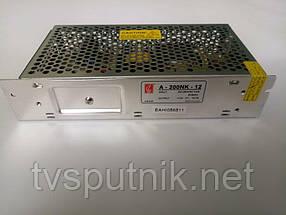 Импульсный блок питания A-200NK-12 (12В/16А)