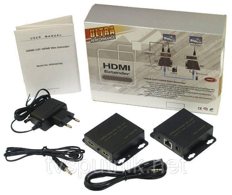 HDMI удлинитель HDEX007M1 (1080p / 3D)