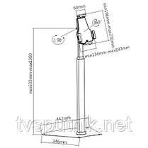 Держатель напольный для планшета ITech ShowPad9, фото 2