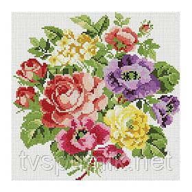 Алмазная вышивка «Вальс цветов» (Код:062-ST-S)
