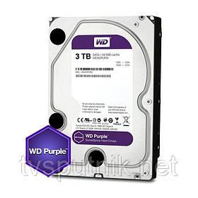 """Жёсткий Диск Western Digital Purple HDD 3TB (3.5"""")"""