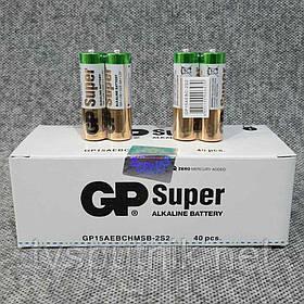 Батарейки GP super alkaline LR6 AA