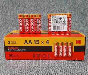 Батарейки Kodak AA (сольові)
