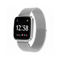 Умные часы-браслет Smart watch band bracelet Colmi Y7 Pro с тонометром Silver SB0001Y7S ES, КОД: 1291367