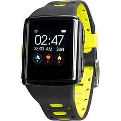 Смарт-часы Smart Watch Gelius Pro M3D WEARFORCES GPS Black Green 00000074412 ES, КОД: 1932655