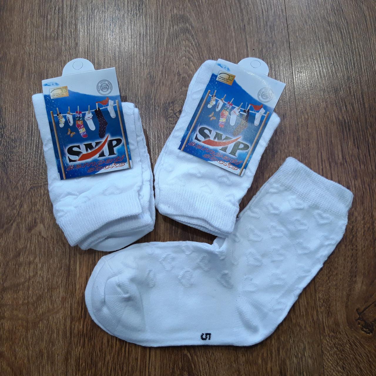"""Дитячі стрейчеві шкарпетки бавовна""""SMP"""" Туреччина 5-6 років"""