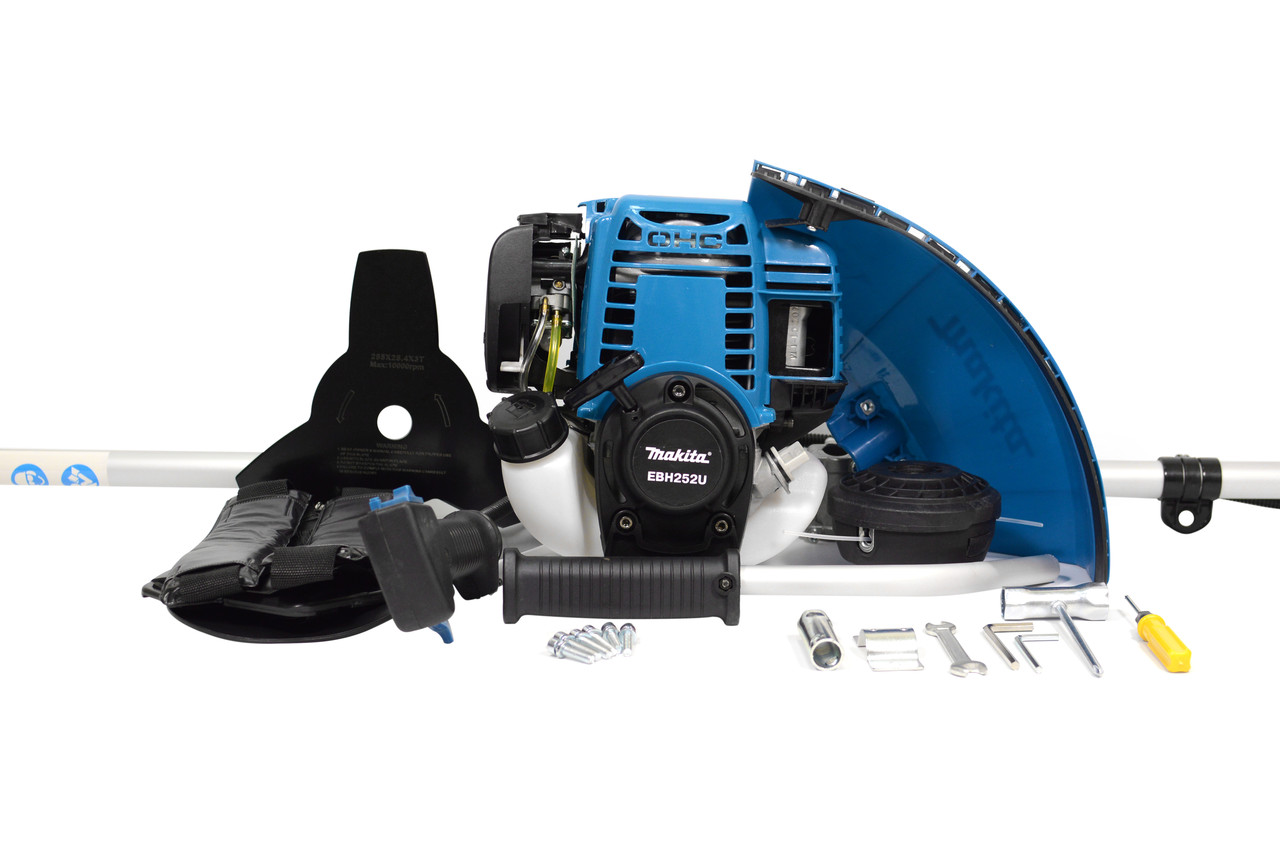 Мотокоса бензинова Makita EBH252U 4-х тактний двигун 3.5 кВт 4,76 л. с.