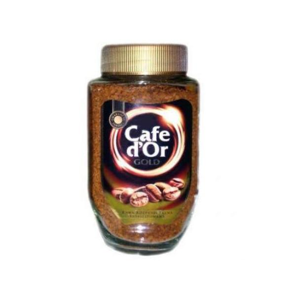 Кофе растворимый сублимированный в стеклянной банке Сafe Dor Gold, 200г