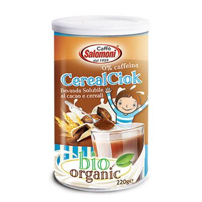 Органический растворимый напиток из какао и злаков Salomoni