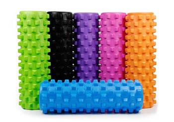 Масажний ролик EasyFit Grid PRO Roller 45 см