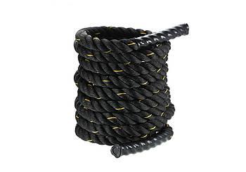 Канат для кроссфита EasyFit Battle Rope 9/12/15 (м)