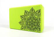 Блок для йоги EasyFit EVA з малюнком, фото 6