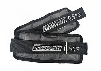 Обважнювачі EasyFit Metal 0,5-5 кг (фіксований вагу)