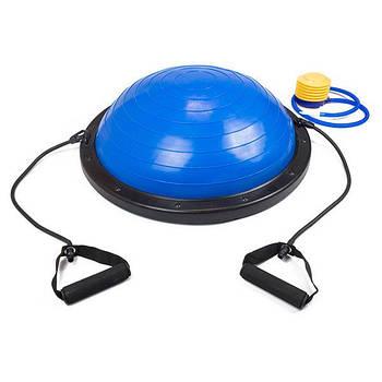 Балансировочная платформа EasyFit BOSU 60 см