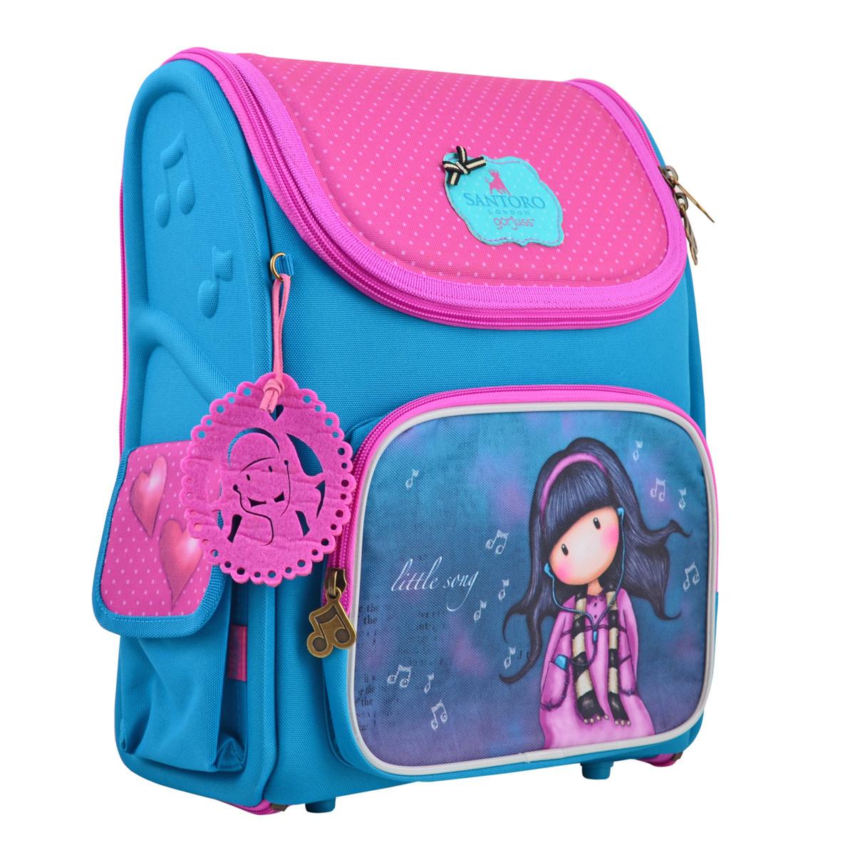 Рюкзак шкільний H-17 Santoro Little Song Різнокольоровий (557624)