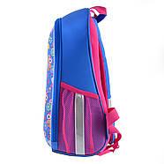 Рюкзак шкільний каркасний 1Вересня H-27 Owl party Синій (557710), фото 3