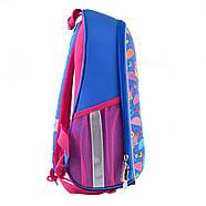 Рюкзак шкільний каркасний 1Вересня H-27 Owl party Синій (557710), фото 4
