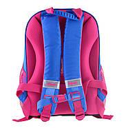 Рюкзак шкільний каркасний 1Вересня H-27 Owl party Синій (557710), фото 5