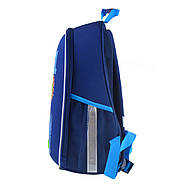 Рюкзак шкільний каркасний 1ВересняН-27 Football winner Синій (557713), фото 2