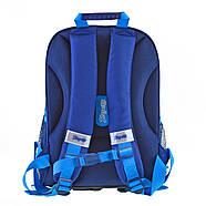 Рюкзак шкільний каркасний 1ВересняН-27 Football winner Синій (557713), фото 4