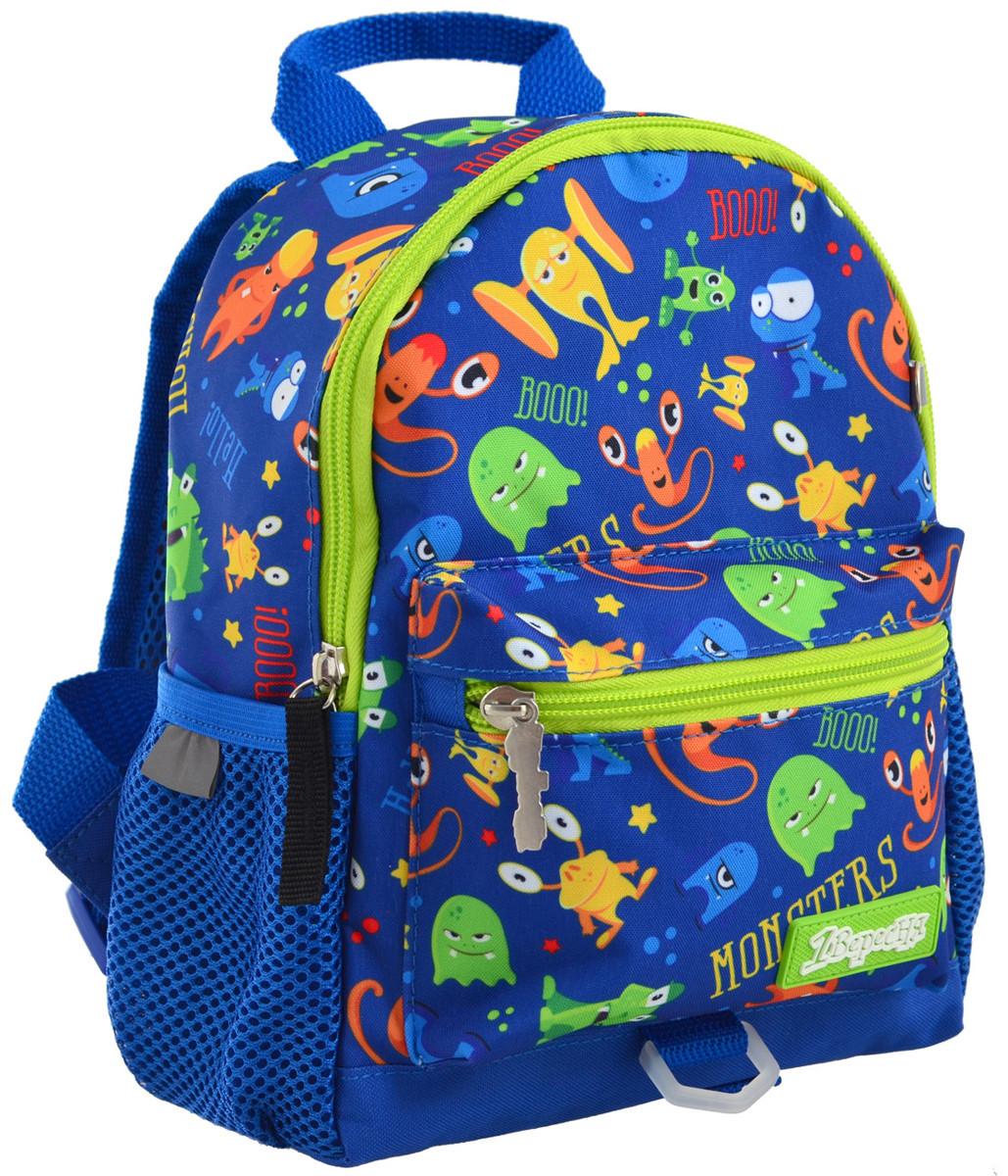 Рюкзак детский 1 Вересня K-16 Monsters Разноцветный (556579)