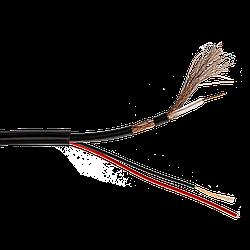 Кабель для відеоспостереження RG58+2C 100М
